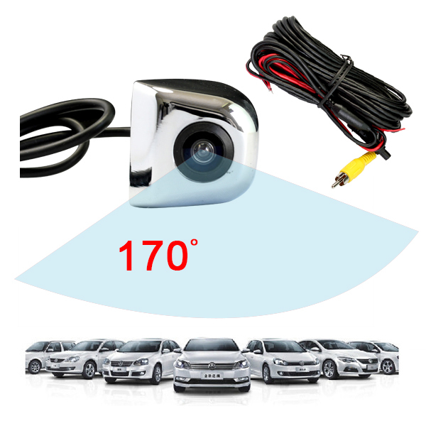High-qualified 170 Angle Wide Viewing Night Vision Rear Camera for GPS Waterproof Backup Reverse Camera with CDD and Cheap Price(China (Mainland))