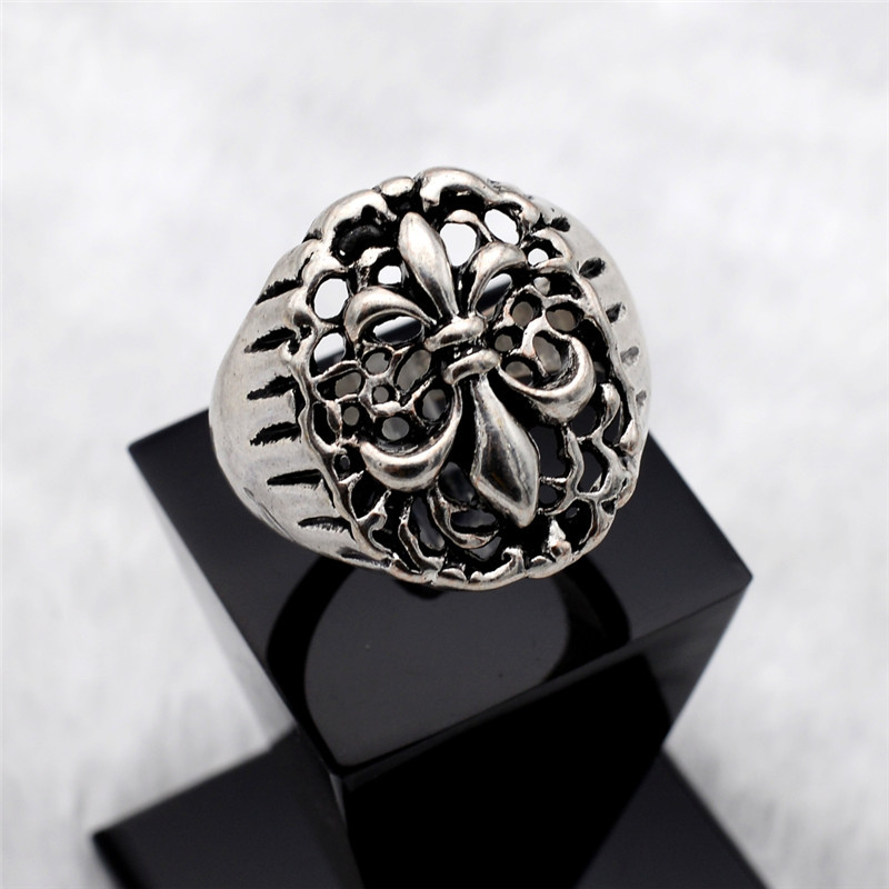 wholesale free shipping cool mens biker rings jewelry size