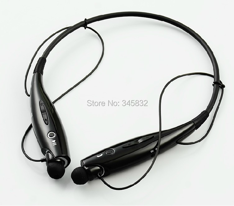 Tone HBS-730 Neckband style Wireless Bluetooth Universal Stereo Headset HBS 730 Black LG iphone Samsung cellphones - Every day special mobile phone accessories boutiques store