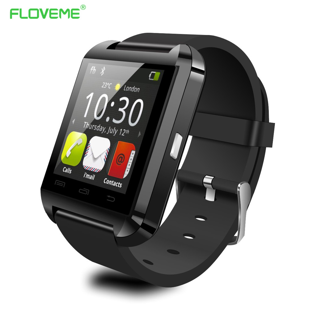 Bluetooth Sync SMS Music Smart Watch Intelligent Wrist Watch QQ Wechat Social APP Message Sync Smart Phone Screen Smart watch(China (Mainland))