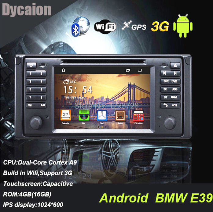 For bmw e39 car android/car Video for car e39 X5/gps for BMW e39 with game function(China (Mainland))