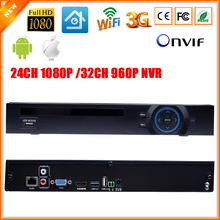 ONVIF HI3535 FULL HD 1080 P CCTV NVR 24CH Überwachung Video Recorder 32CH 960 P NVR Bewegungserkennung FTP 3G Wifi Funktion 2 SATA Port(China (Mainland))