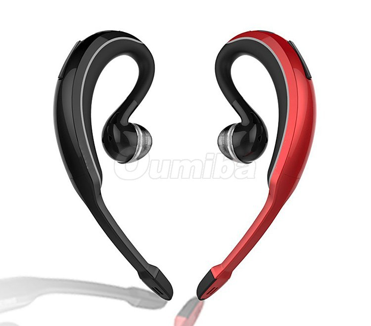 buy sport new wave stereo music bluetooth headset ear hook wireless earphone. Black Bedroom Furniture Sets. Home Design Ideas