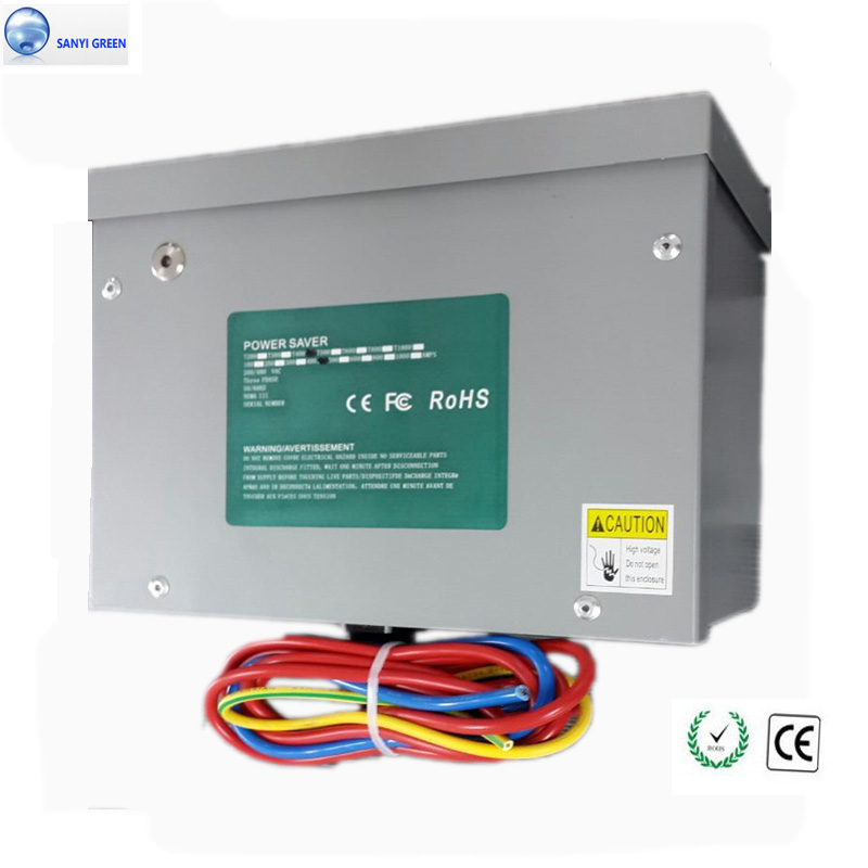 200AMPS 100KW Power Saver 3 Phase For Industrial Motor Machine Free Electricity Saving Box .Energy Reducer(China (Mainland))