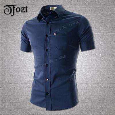 Мужская классическая рубашка TFOZT 2015 m/xxl 13013 tfozt 2015 xxl 13057