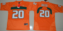 Nike stitched college fit size Hurricane HOT SALE Top quality For youth,#20 Ed Reed #52 Ray Lewis #26 high quality(China (Mainland))