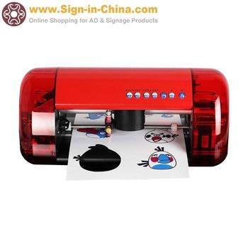 Small Desktop Cutter Plotter A4 Mini CUTOK Vinyl Cutter Machine and Plotter with Contour Cut Function