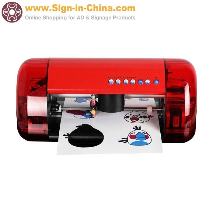 Small Desktop Cutter Plotter A4 Mini CUTOK Vinyl Cutter Machine and Plotter with Contour Cut Function(China (Mainland))