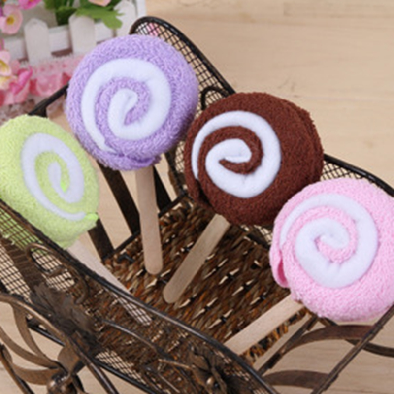 Creative cake towel wedding banquet wedding gifts promotional Favor children small gifts lollipop towel(China (Mainland))