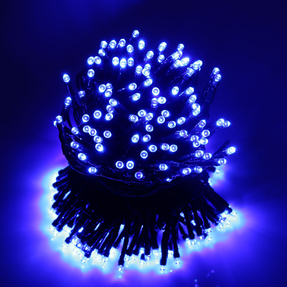 Solar Christmas Lights 72ft 200 LED 8 Modes Solar Fairy String Lights for Outdoor Garden Wedding ...