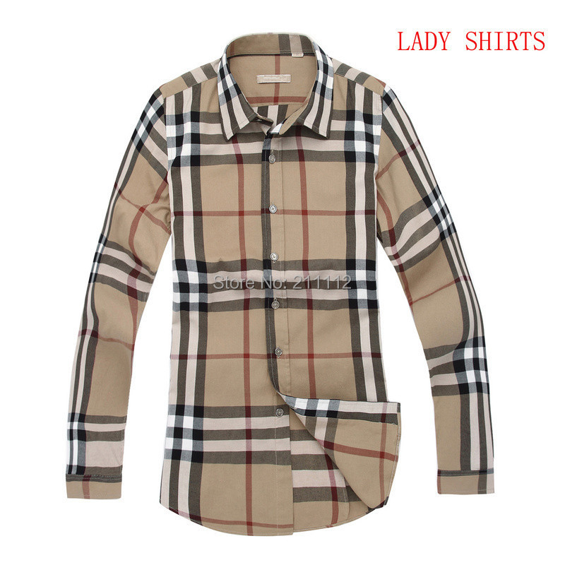 2014 Brand New style Design Womens Shirts Casual Slim Fit Stylish Dress 9 Colors - Smail deyi store