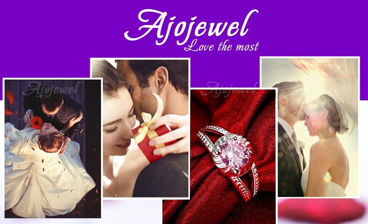 бренд ajojewel размер 6, 7, 8, 9 Винтаж животный украшения 18k белого золота покрытием Черный стразами слон кольцо для женщин/мужчин