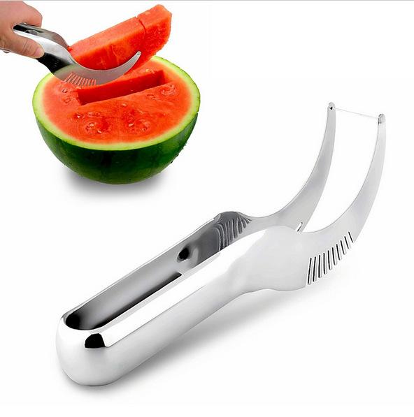 Hot Summer kitchen tool watermelon knife Hami melon knife Cutter Chopper Fruit Salad Cucumber Vegetable Peeler Kitchen Tool(China (Mainland))