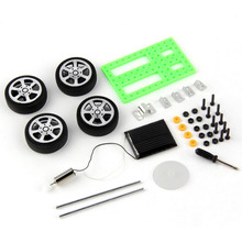 1pcs Mini Solar Powered Toy DIY Car Kit Children Educational Gadget Hobby Funny Hot Worldwide(China (Mainland))