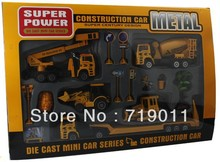 Free shipping Car Model Set the Boy Toys Diecast Cars Model Kit of Metal Alloy Material(China (Mainland))