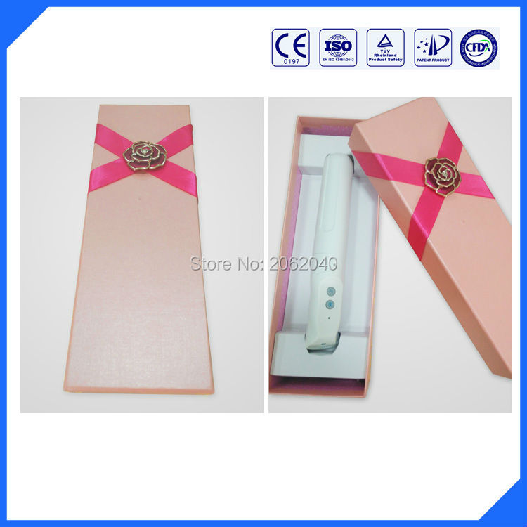 Comfortable home beauty equipment machine vaginal tightening blue light steralization therapy device