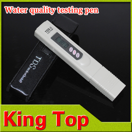 Water quality PH tester pen portable water test meter for water conductivity electrolyte purity TDS value test pen instrument(China (Mainland))