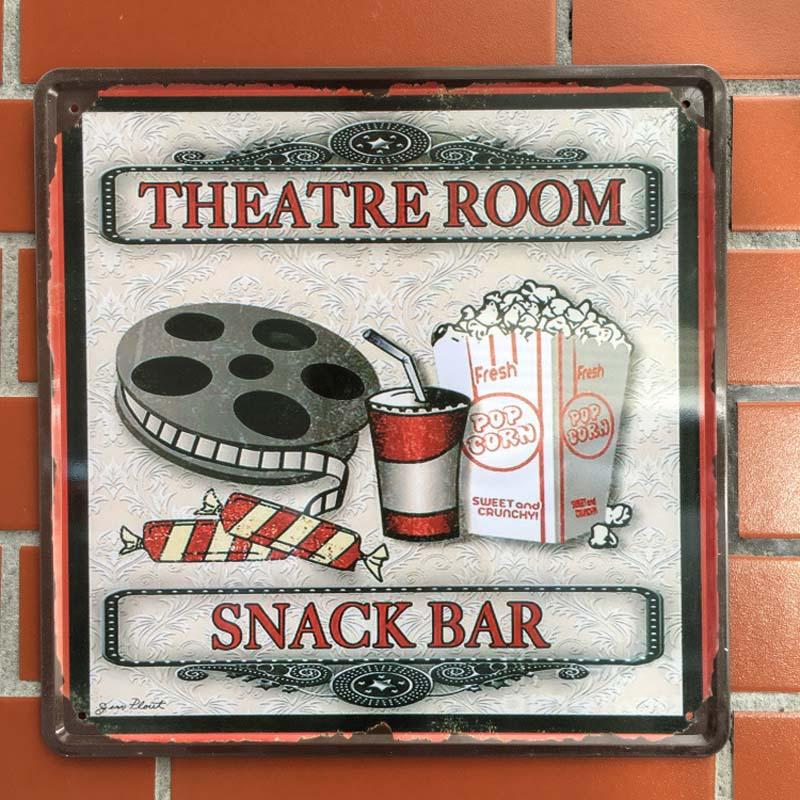Theater Room Snack Bar: Grand Mur Signes Promotion-Achetez Des Grand Mur Signes