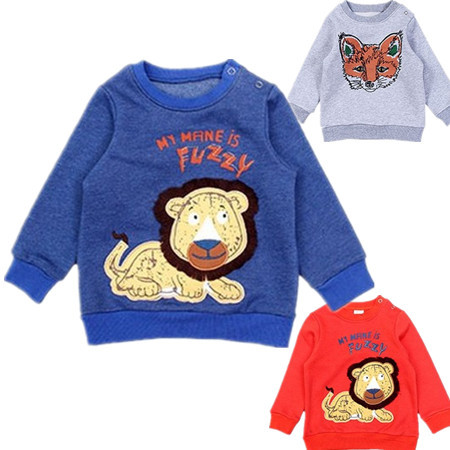 Hot Kids Funny new 2014 Baby girls spring autumn sweaters Girls Fox Children cartoon baby coat 2-4Y - Landmark store