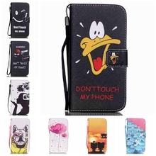 Warning Shooter Fashion Man Paiting Leather Cover Book Flip Wallet Case for Samsung galaxy S3 S4 S5 Neo Duos S6 edge S3/4/5 mini(China (Mainland))
