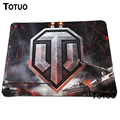 Hot Sell World of Tanks Background High quality Durable Gaming Mouse Pad Soft Silicone Anti slip