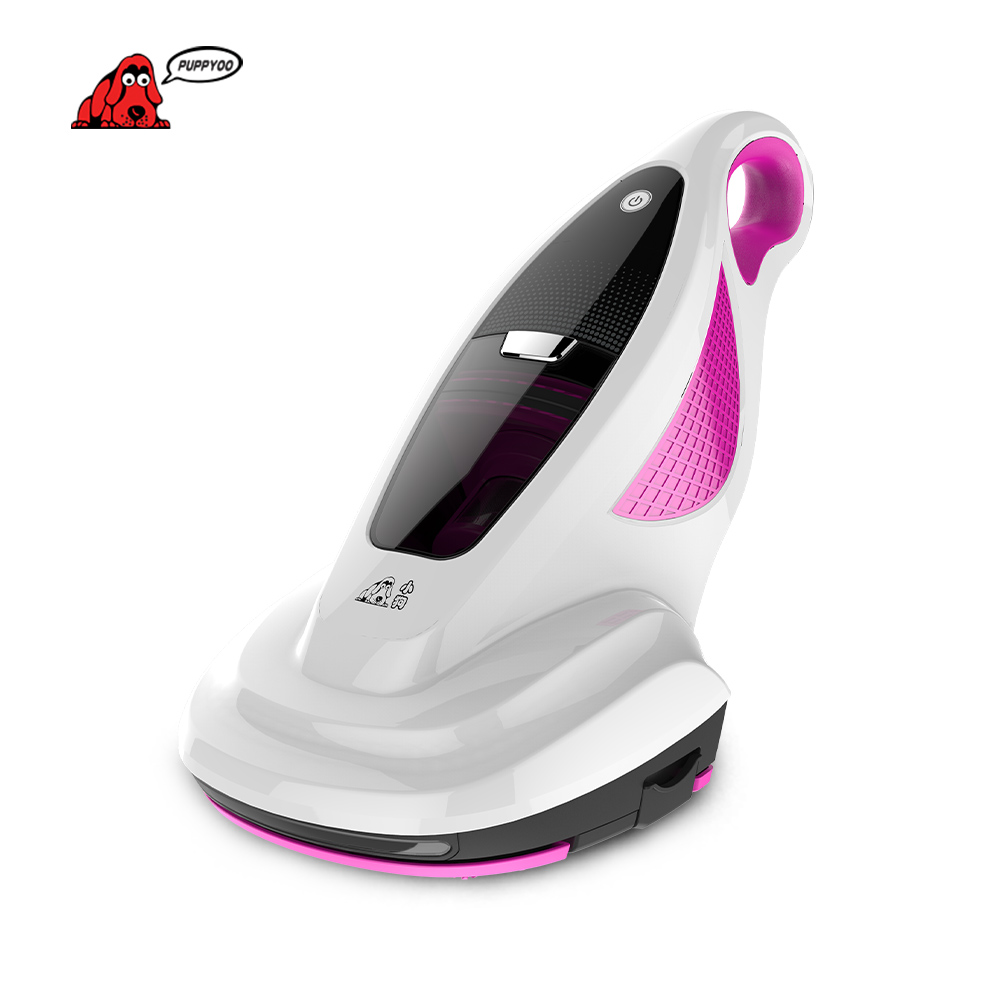 PUPPYOO Vacuum Cleaner Home Bed Mites Collector UV Acarus Killing Vacuum Cleaner for Home Mattress Mites-Killing WP602A()