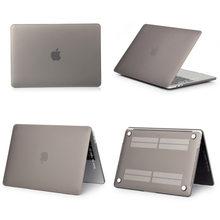 Nuevo ordenador portátil caso para Apple MacBook Air, Pro Retina, 11 12 13 15 para mac libro Pro 13,3 de 15,4 pulgadas con barra táctil + cubierta de teclado(China)