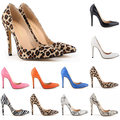 New Heels 11CM Snake Leopard Zebra Grain Women Pumps 2016 Fashion Pointed Toe Party Wedding Sexy