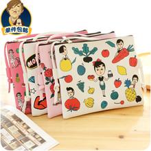 Fan uncle cartoon fashion PU Leather Shoulder Messenger C120 cute Hand Bag Backpack Bag Purse =1pcs =1pcs a lot(China (Mainland))