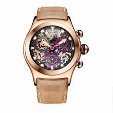 Récif tigre/RT chronographe Sport montres pour hommes squelette cadran avec Date trois compteurs lumineux or Rose Unique montres RGA792(China)