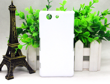 Glass or anti matte  DIY 3D Blank sublimation Case cover Full Area Printed For SONY Xeperia Z4 MINI    100pcs/loT