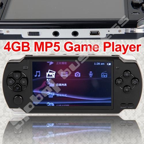 "4.3"" TFT LCD 4GB MP3 MP5 Player FM Camera TV OUT Game Video RM / RMVB / AVI Player Free Shipping(China (Mainland))"