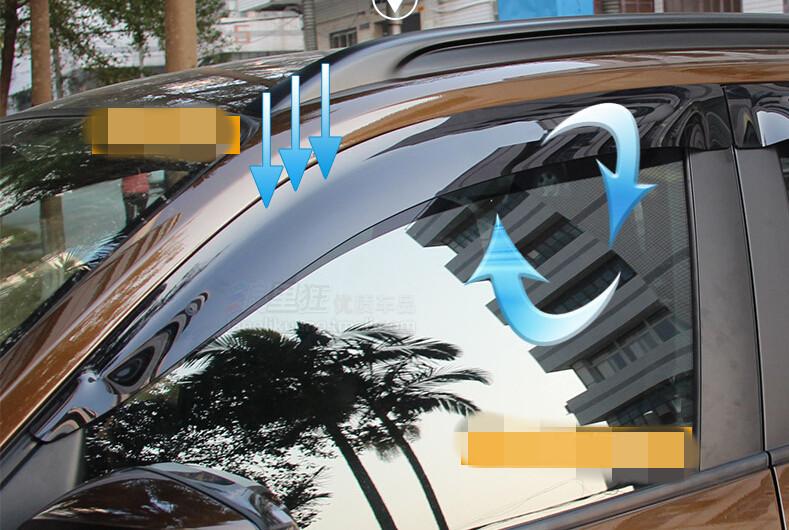 window visor sun rain guard shade shield deflector 4pcs For BMW x4 2014 2015 /X3 2011 2012 2013 2014 2015<br><br>Aliexpress