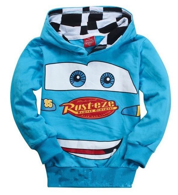 Новый лианы дети куртка с капюшоном тонкий толстовка мальчики девочки автомобили ...