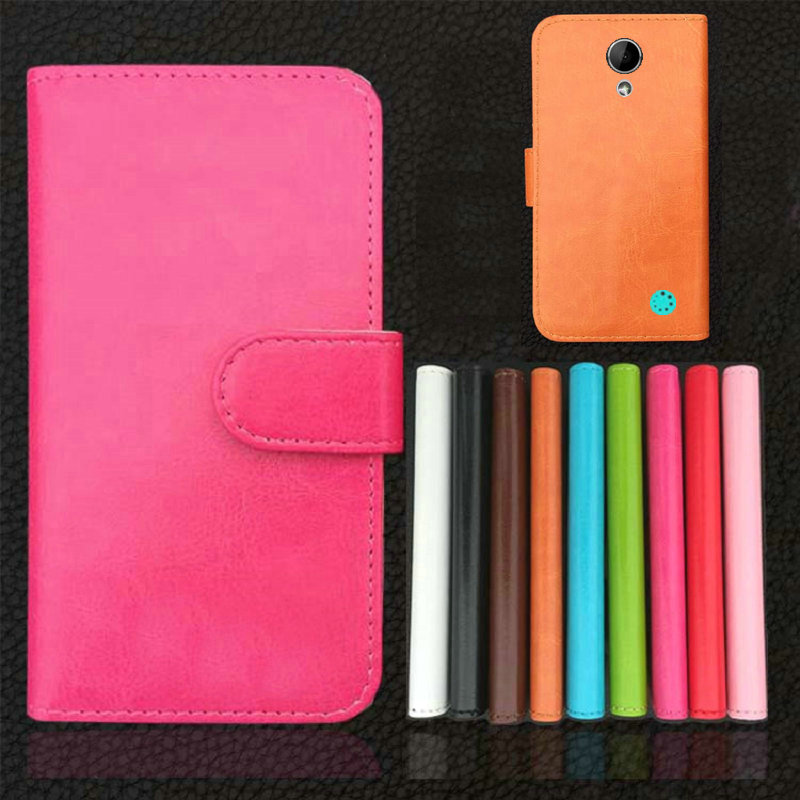 High Quality Brand Flip Leather Case Pouch Cover For 4Good Kids S45 Phone(China (Mainland))