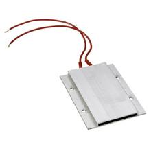1pcs Thermostat PTC Aluminum Heating Ceramic Heater Max 200W AC/DC 220V Incubator Dehumidification 77x 62x6mm(China (Mainland))