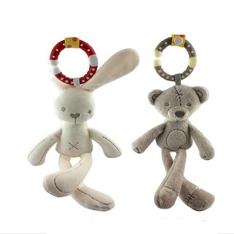 2016 hot deal 29cm Minecraft My Cute Lovely Little rabbit/Bear Plush Toys PP Cotton Soft Doll Toys for Children Toys(China (Mainland))
