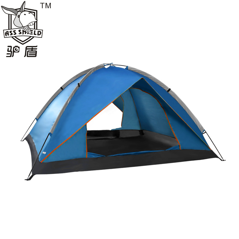 Donkey tent outdoor 3 - 4 double tents double layer account outdoor tent beach