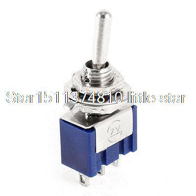 AC 6A 125V 3 Screw ON/ON 2 Position 1P1T SPST Toggle Switch Replacement(China (Mainland))
