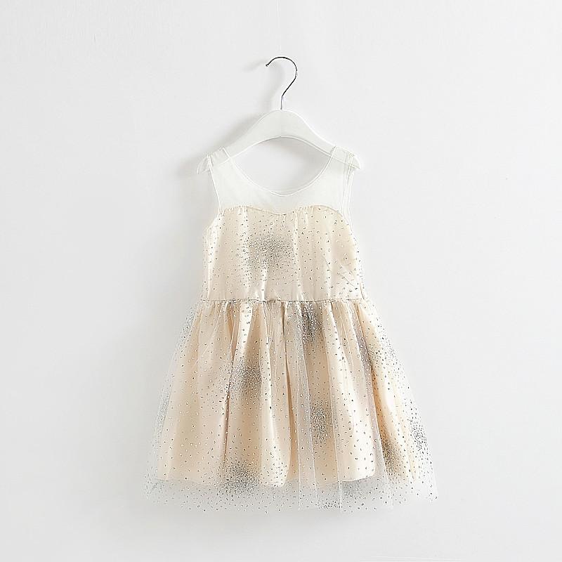 HOT 2015 Girls summer sweet gauze vest dress ,baby girl clothes , BW15 - Baby wardrobe store