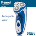 Kemei 5880 Washable Rechargeable Electric Shaver man three Blade Shaving razors
