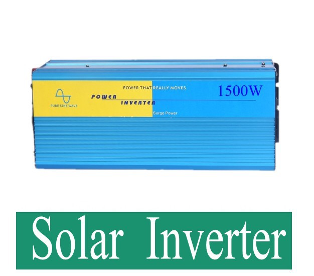 Free shipping Supply 1500w efficient high-quality off-grid pure sine wave inverter<br><br>Aliexpress