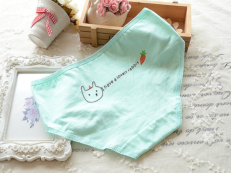 2015 Hot Sell Underwear Brand Women Panties Candy Color Animal Cute Cotton Seamless Brief Traceless Pant