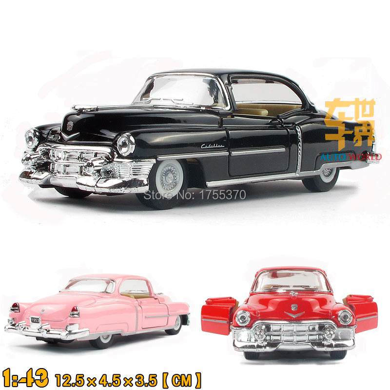 Free shipping Kinsmart 1:43 Cadillac 1953 Wecker Beat-up Car Jalopy Alloy Model Toys For Children As Gift(China (Mainland))