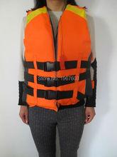 adult men women Life Vest orange Foam Buoyancy Vest Lifejacket Water Safety for driftig water skiing 0.5kg GB4304-84 Standard(China (Mainland))