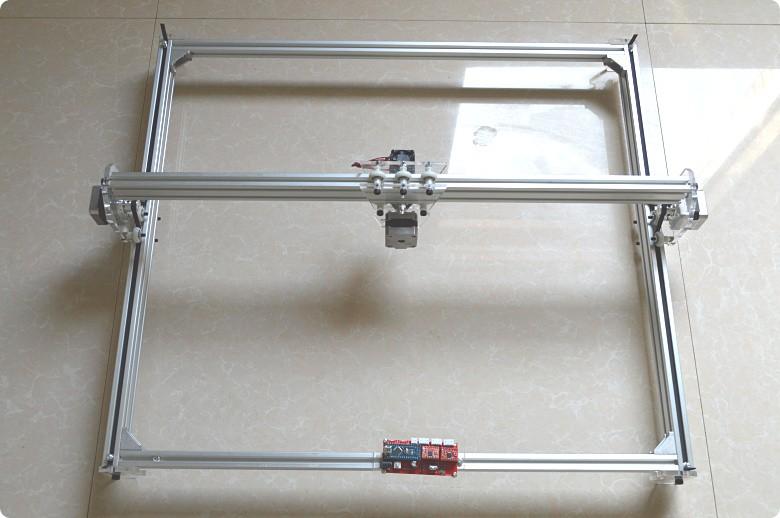 Купить Benbox 405nm 10000 МВт Мини настольных DIY Лазерной гравировки гравер резки лазерный Гравер С ЧПУ печати изображения 50X65 cm логотип