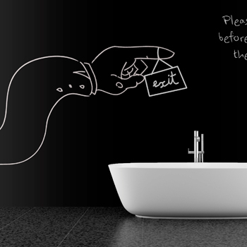 107 blackboard stickers soft blackboard wall stickers doodle chalk