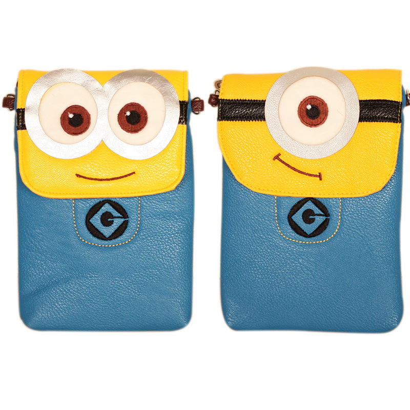 coin purse wallet girl mini pouch monederos kids crossbody bag carteira bolsa monederos mujer monedas kawaii bags minions<br><br>Aliexpress