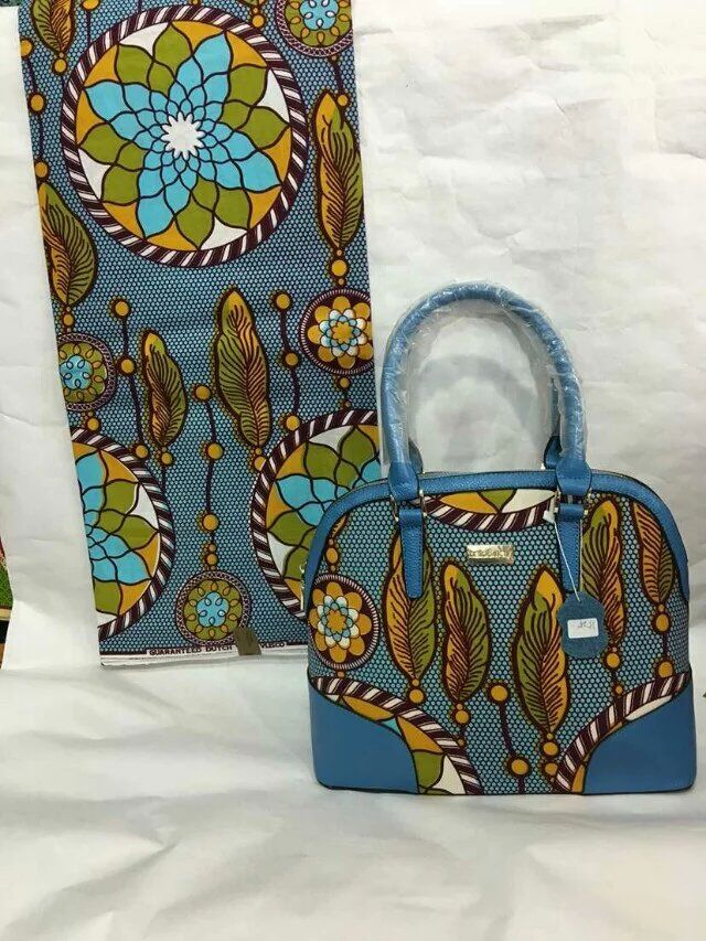 2016 new design free shipping by DHL nice quality Women'sWax hand Bags with african traditional party derss WAX fabircTX-27(China (Mainland))
