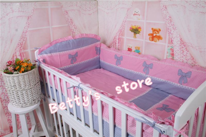 Cotton New Designer Bedding Sets 5pcs/set Multi Style Baby Bedding Set Baby Bed Bumper+Sheets Toddler Bedding Bebek Uyku Seti<br><br>Aliexpress